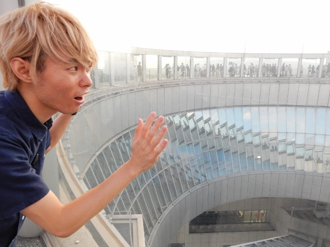 梅田スカイビル 空中庭園(35)