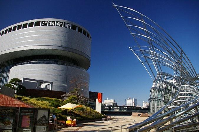 プラネタリウムデート3大阪市立科学館外観