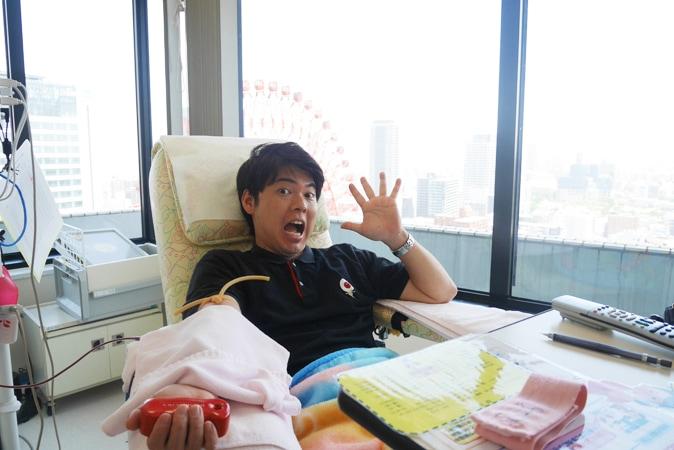 大阪・梅田で献血が出来る、カフェみたいな献血ルームとは?