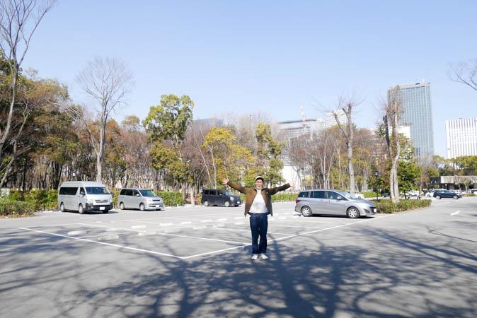 車場 大阪 城 公園 駐